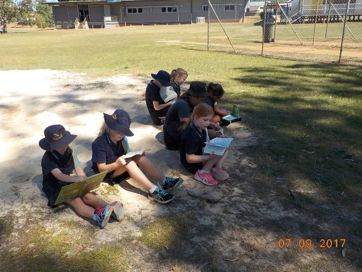 Outdoor Classroom Day in 4A
